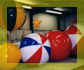 advertising balloons - multi-color helium balloons. We build our helium advertising ballons to order. Your balloon - your way!